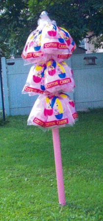 Hawking Pole with Candy