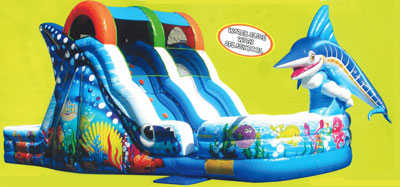 The Marlin Splash Slide